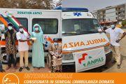 Un'ambulanza Anpas consegnata in Senegal: da Travagliato a Mbour